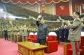 「ICBM成功」記念公演に出席
