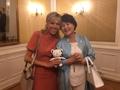 Avec Brigitte Macron