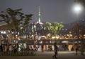 漢江で夕涼み
