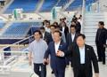 Ministre de l'Intérieur au Gangneung Ice Arena