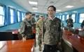 Le ministre de la Défense à Panmunjom