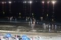 Ouverture nocturne d'une plage