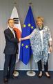 El vicecanciller en la Unión Europa