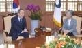 Reunión de la canciller con el exjefe de la ONU