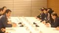 韓日議連会長 安倍首相と会談