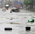 El aguacero inunda las calles