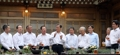 الرئيس مون يجتمع مع بعض رؤساء الشركات العملاقة