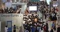 混み合う仁川空港
