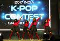 Concours de K-pop en Inde