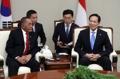 Ministres de la Défense sud-coréen et indonésien