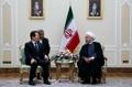 Président parlementaire et président iranien