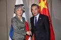 Chefs des diplomaties coréenne et chinoise