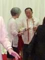 Jefes diplomáticos de las dos Coreas