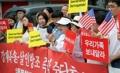 Los desertores norcoreanos protestan contra China