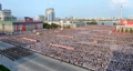 Rassemblement à Pyongyang