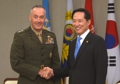 Ministre de la Défense et chef d'état-major des armées américaines