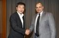 PDG de Yonhap et ambassadeur koweïtien