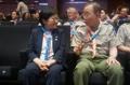 Ministre de l'Egalité hommes-femmes et Ban Ki-moon