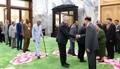 Evento de culto a los 'Kim'