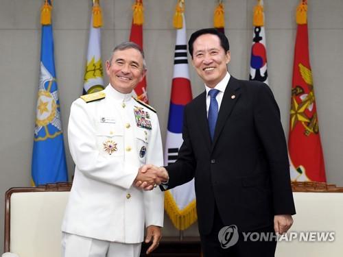 """해리스 美태평양사령관 """"철통같은 안보공약 변함없어""""(종합)"""
