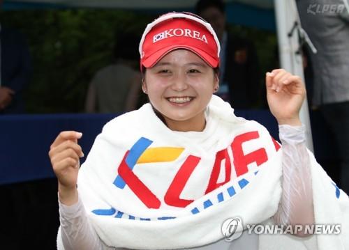 '프로 잡는 아마추어' 최혜진, 세계 랭킹 22위로 상승