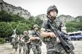 Exercice militaire sur l'île Ulleung