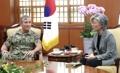 Avec le commandant des forces américaines du Pacifique