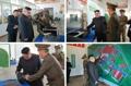 Kim Jong-un inspecte l'Institut des matériaux chimiques