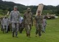 Comandantes de EE. UU. en la base del THAAD