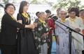 ソウルの慰安婦被害者追悼公園が1周年