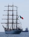 Un buque de entrenamiento de México visita Busan