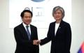 Chefs des diplomaties sud-coréenne et laotienne