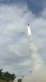 弾道ミサイル飛行試験の映像公開
