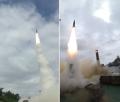 Prueba de misiles de Corea del Sur