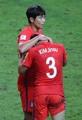 肩落とす韓国代表