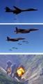 Ejercicios militares aéreos entre Seúl y Washington