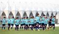Entrenamiento de la selección nacional