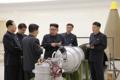 El líder norcoreano en el Instituto de Armas Nucleares