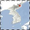 Terremoto artificial en Corea del Norte