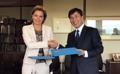 Pacte entre la province du Chungcheong du Sud et l'OIM