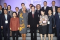 PM avec des femmes dans le secteur financier