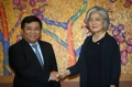 Avec le ministre vietnamien des Investissements