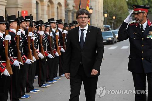 스페인, 분리독립 주도하는 자치정부 수반 겨냥 부패수사 착수