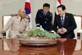 Ministres de la Défense coréen et égyptien