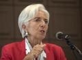 Conférence de presse de Lagarde