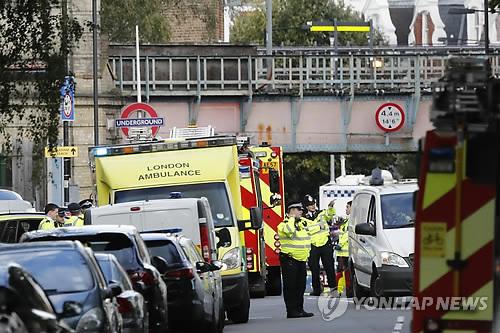 英 런던 지하철 폭탄테러 18세 용의자 긴급체포(종합)