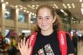 Star de tennis Jelena Ostapenko à Séoul