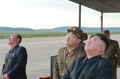 N.K. leader Kim watches Hwasong-12 missile launch