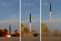 Hwasong-12 missile launched