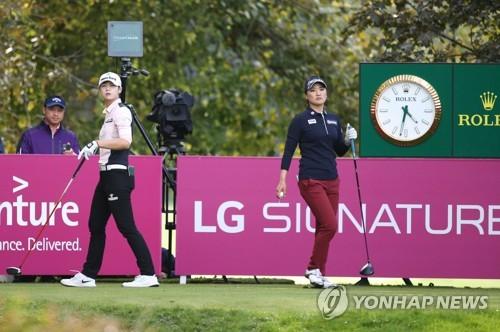 치열해진 LPGA 타이틀 경쟁…유소연·박성현 대만서 다시 격돌